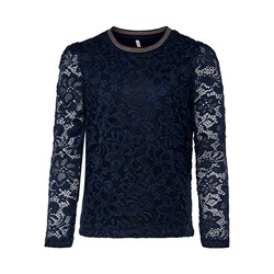 Only - Amaze puf sleeve lace top