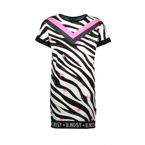 B-Nosy Sweat Dress Zebra Y0002-5814