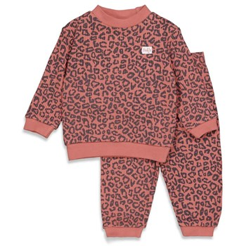 Feetje Pyjama-Terra Pink Fashion Edition